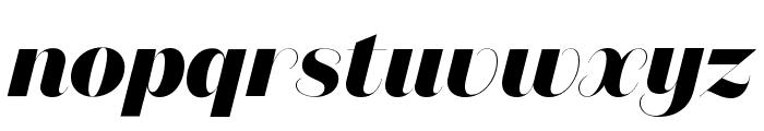 DomaineSansFine ExtraboldItalic Font LOWERCASE