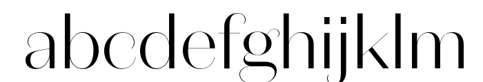DomaineSansFine Light Font LOWERCASE