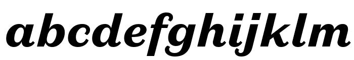 DomaineSansText BlackItalic Font LOWERCASE