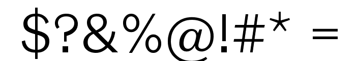DomaineSansText Light Font OTHER CHARS