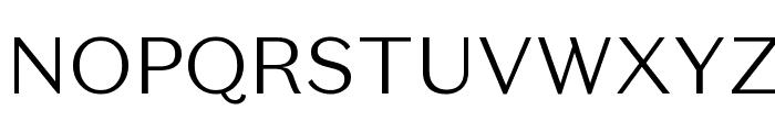 DomaineSansText Light Font UPPERCASE
