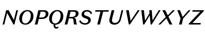 DomaineSansText MediumItalic Font UPPERCASE