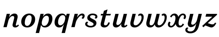 DomaineSansText MediumItalic Font LOWERCASE