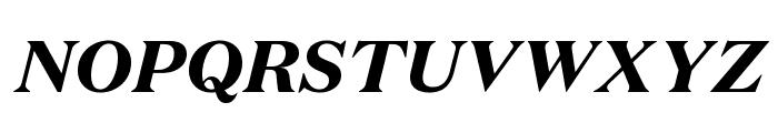 DomaineText BlackItalic Font UPPERCASE