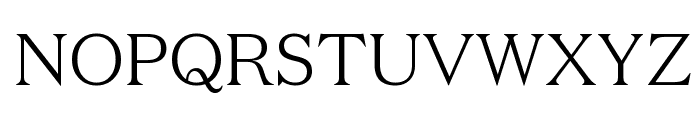DomaineText Light Font UPPERCASE