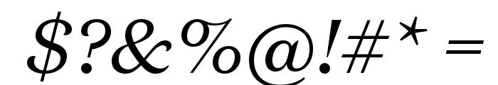 DomaineText RegularItalic Font OTHER CHARS
