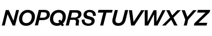FoundersGrotesk MediumItalic Font UPPERCASE
