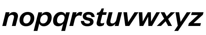 FoundersGrotesk MediumItalic Font LOWERCASE