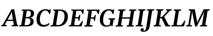 Newzald MediumItalic Font UPPERCASE