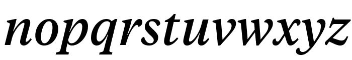 TiemposText MediumItalic Font LOWERCASE