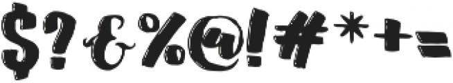 Affection Regular otf (400) Font OTHER CHARS