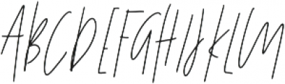 Affinity All Caps ttf (400) Font UPPERCASE