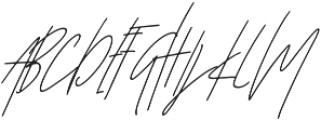 Affinity Alt Italic ttf (400) Font UPPERCASE