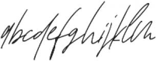 Affinity Alt Italic ttf (400) Font LOWERCASE