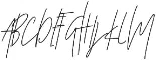 Affinity Alt ttf (400) Font UPPERCASE