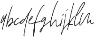 Affinity Alt ttf (400) Font LOWERCASE