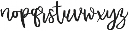 Affinity Grove Script otf (400) Font LOWERCASE