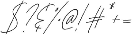 Affinity Regular Italic ttf (400) Font OTHER CHARS