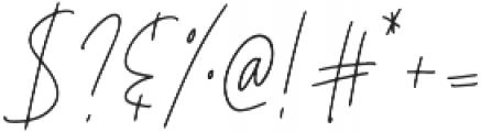 Affinity Regular ttf (400) Font OTHER CHARS