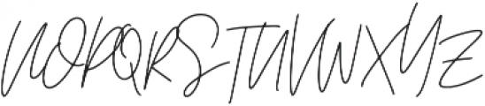 Affinity Regular ttf (400) Font UPPERCASE