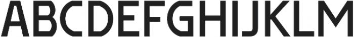 Affluent SemiBold otf (600) Font UPPERCASE