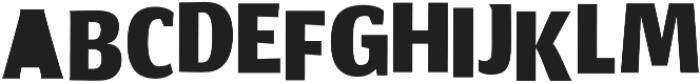Africa Regular otf (400) Font UPPERCASE