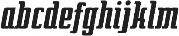 After 5 otf (700) Font LOWERCASE
