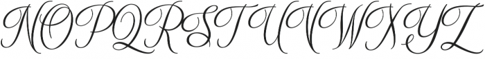 After Midnite otf (400) Font UPPERCASE