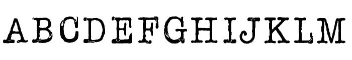 AFL Font pespaye nonmetric Font UPPERCASE