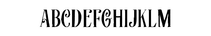 Afecta Font UPPERCASE