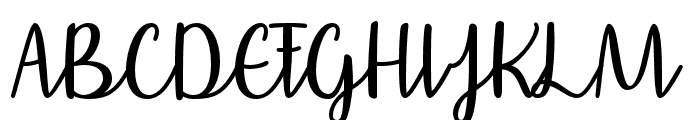 AffectionatelyYours Font UPPERCASE