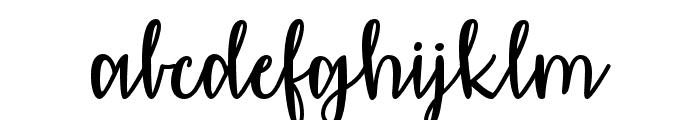 AffectionatelyYours Font LOWERCASE
