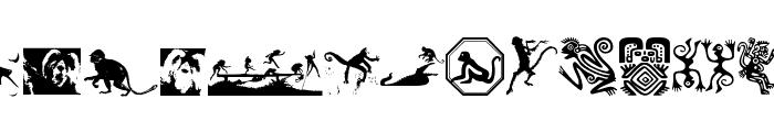 AffigMonkeys Font LOWERCASE