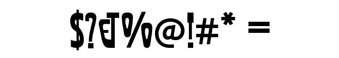 Afisha Font OTHER CHARS