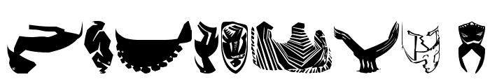 AfricArtes Font OTHER CHARS
