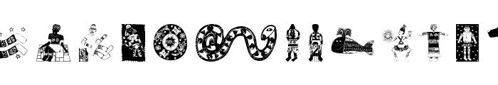 Africain Font UPPERCASE