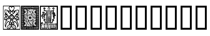 AfricanDesign Font LOWERCASE