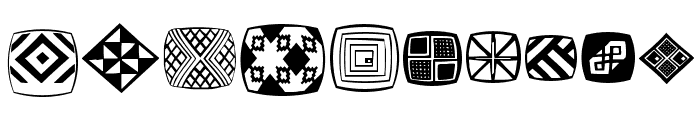AfricanSymbols Font OTHER CHARS