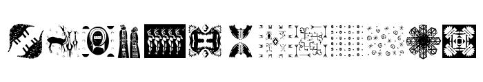 Africanissima Font UPPERCASE