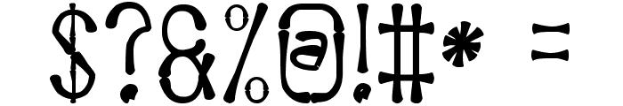 Afrika Safari Rebuild St Font OTHER CHARS