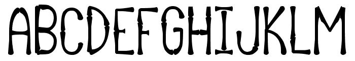 Afrika Safari Rebuild St Font UPPERCASE