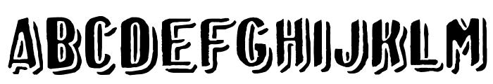 Afro Add plain Font UPPERCASE
