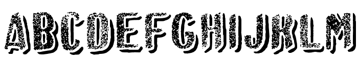 Afro Add Font UPPERCASE