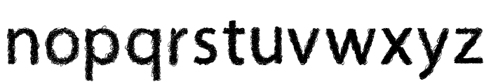 Afro Font LOWERCASE