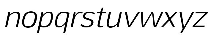 Aftasans-Italic Font LOWERCASE