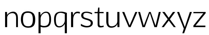 Aftasans Font LOWERCASE
