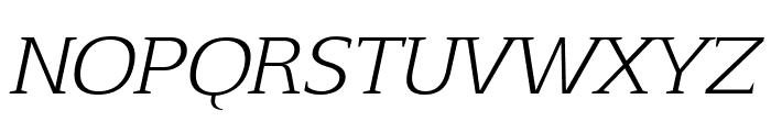 Aftaserif-Italic Font UPPERCASE