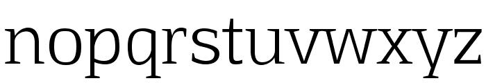 Aftaserif Font LOWERCASE