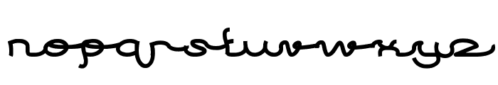 After Party Font LOWERCASE