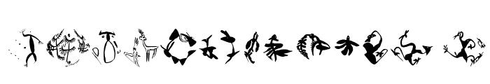 AfterAtomWar Font UPPERCASE
